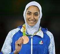 کيميا عليزاده به ايران پشت کرد