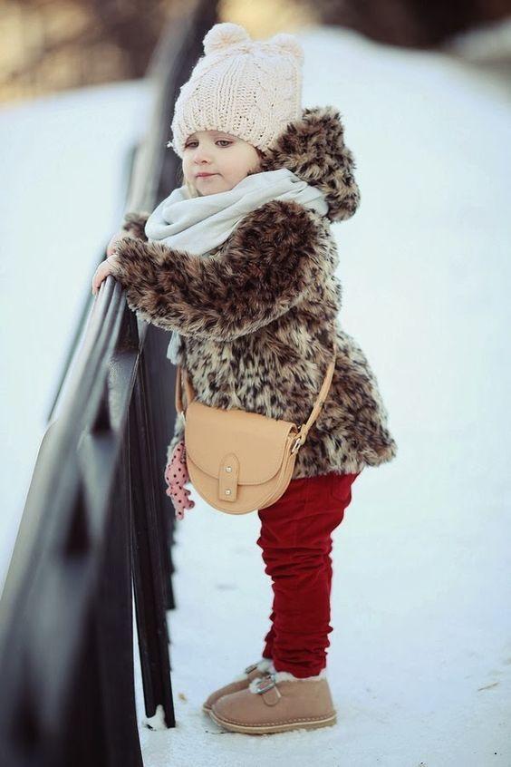 مدل پالتو لباس زمستانی کودک