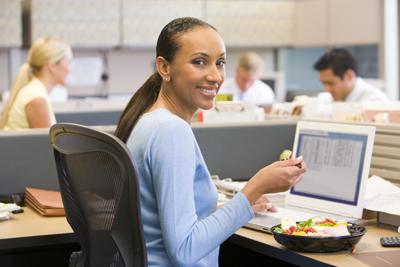 بیماری شایع کارمندان، رژیم غذایی سالم کارمندی