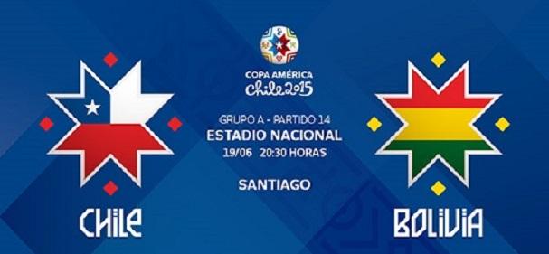 پایان بازی شیلی 5 - 0 بولیوی
