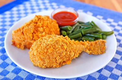 مرغ سوخاری در فر،طرز تهیه مرغ سوخاری در فر