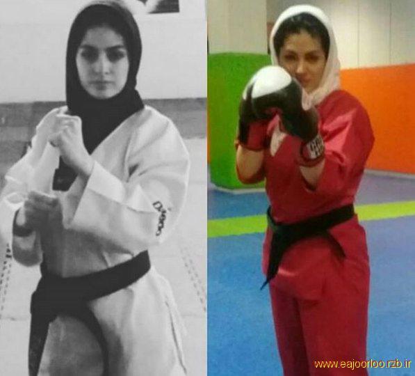 کلاس های تکواندو دختران و کیک بوکسینگ دختران در تهران
