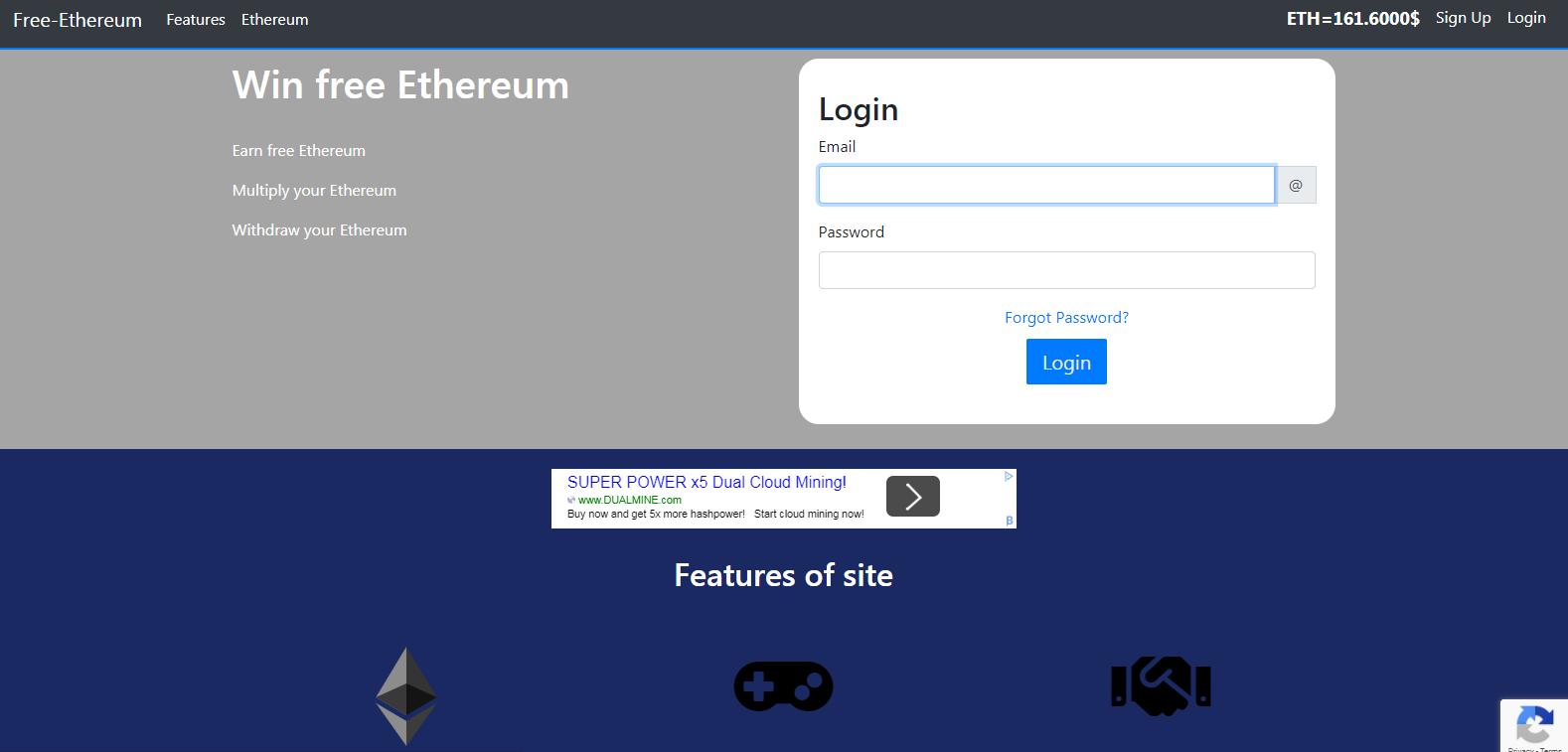 کسب اتریوم رایگان از وبسایت free-ethereum