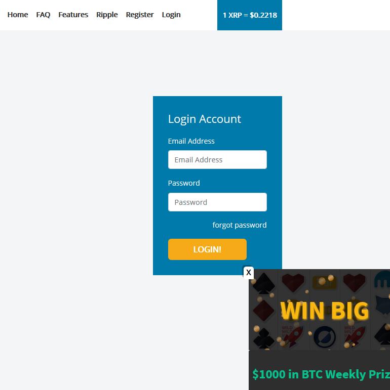 آموزش بدست آوردن ریپل رایگان از وبسایت coinfaucet