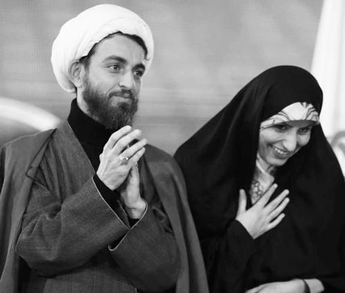 بیوگرافی کمیل نظافتی طلبه آملی  و همسرش