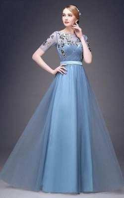 لباس مجلسي زنانه بلند و زيبا