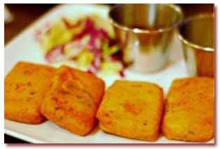 غذای هندی؛ پاكورای پنیر