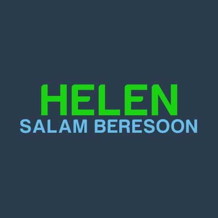 دانلود موزیک ویدئوی هلن بنام سلام برسون