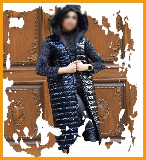 فروشگاه کاپشن جلیقه پافر مشکی قشنگ دخترانه زنانه 1399