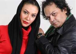 عکس دونفري زيبا بروفه و همسرش