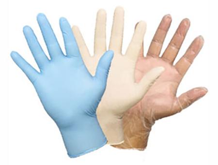 انواع دستکش یکبار مصرف ، جنس دستکش یکبار مصرف