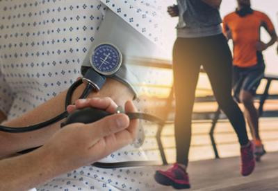 بیماری فشارخون بالا، درمان بیماری فشار خون با ورزش