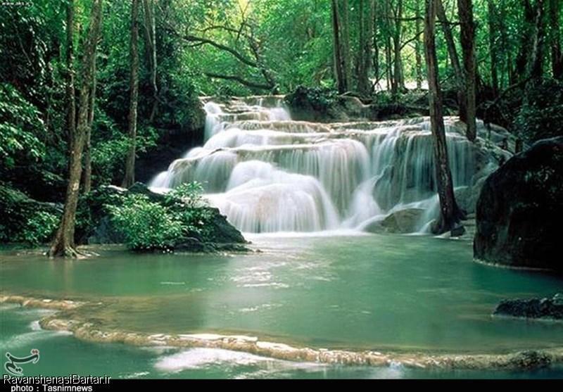 گردشگری  آبشار کبودوال در استان گلستان