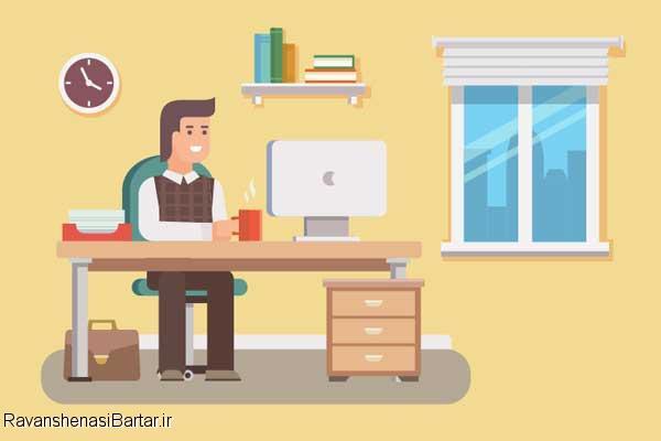 تاثیر مثبت و منفی رنگ در محیط کار