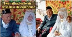 ازدواج يک پيرمرد با دختر جوان 27 ساله