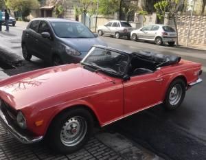 ماشين شيک قديمي در تهران / خودروي کلاسيک انگليسي در تهران