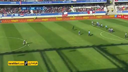 خلاصه بازی اروگوئه 1-1 پاراگوئه