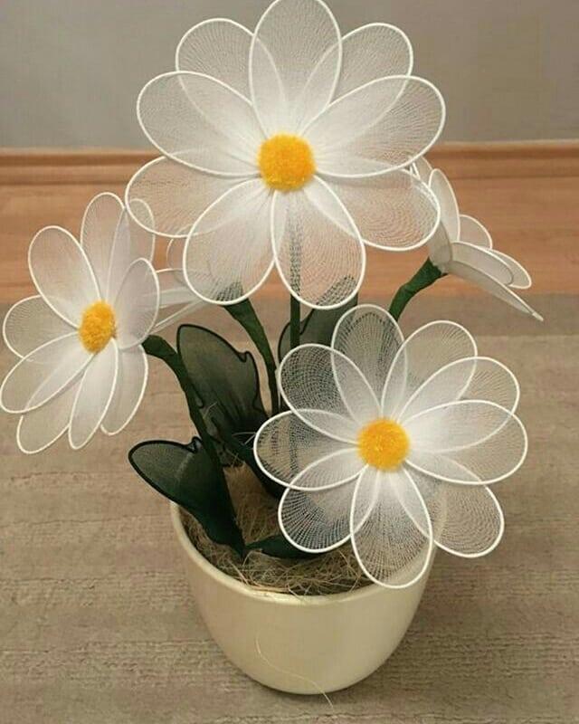مدل گل توری