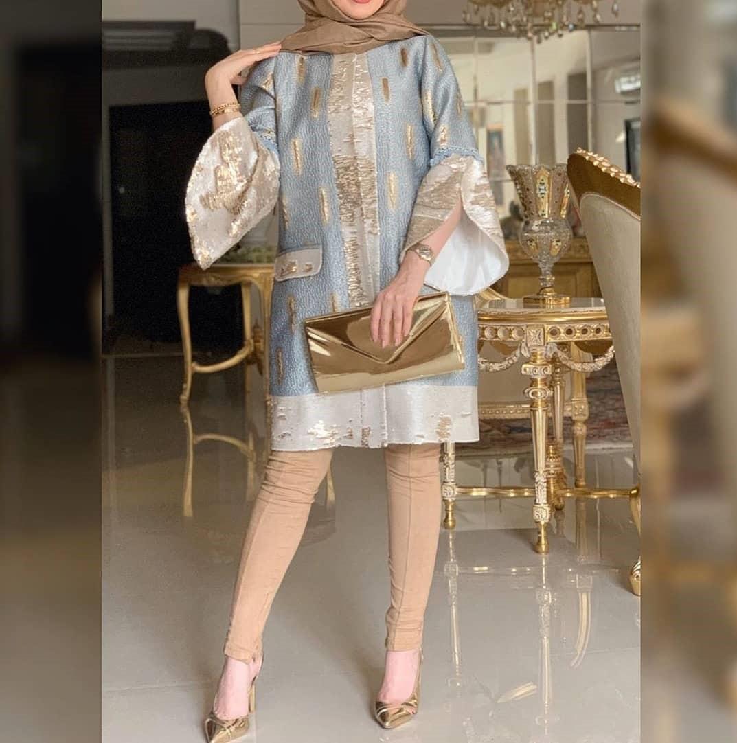 مدل مانتو کوتاه مجلسی دخترانه