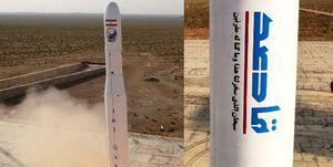 اولین ماهواره نظامی ایران به مدار رفت