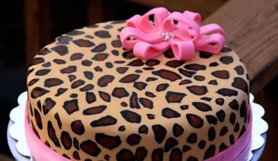 طرز تهیه ی کیک پلنگی