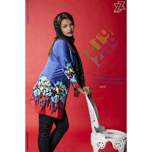 مدل مانتو جدید دخترانه ایرانی