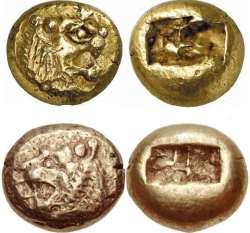 اولين سکه ساخت بشر