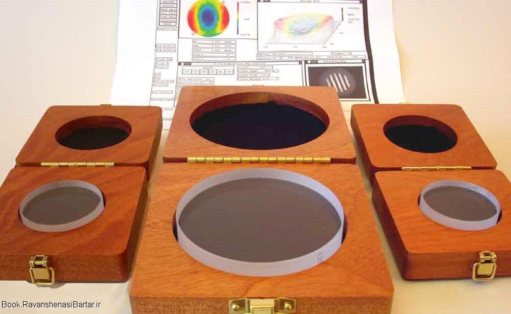 مقاله وسایل اندازه گیری نوری(تختی سنج ها و اینترفرومترها)