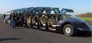 خودرويي با 15 متر طول و ظرفيت 23 مسافر