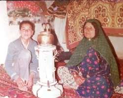 آرش ميراحمدي و مادرش در سال هاي دور