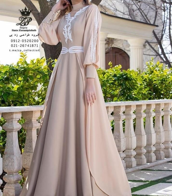 مدل لباس مجلسی و عروس پوشیده