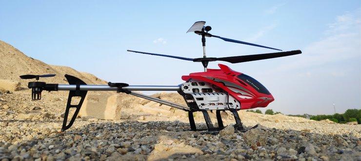 نقد و بررسی هلیکوپتر کنترلی Sky King Aviator DH-80020 : جذاب و دوست داشتنی