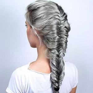 آموزش بافت موی تیغ ماهی ساده