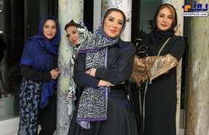 فريبا نادري در پشت صحنه شام ايراني