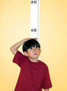 رشد قدی کودکان,قد کودکان,کوتاه قدی در کودکان
