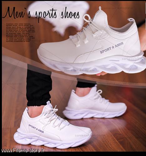 کفش مردانه مدل Kilan (سفید)