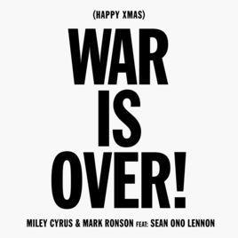 متن و ترجمه آهنگ (Happy Xmas(War Is Over از مایلی سایرس