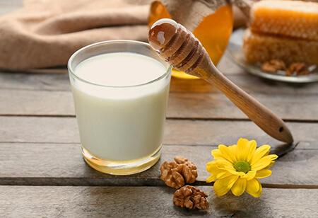 خواص شیر و عسل،فواید شیر و عسل