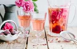 طرز تهيه شربت گل محمدي در خانه / آموزش درست کردن شربت گل محمدي