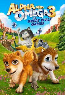 دانلود انیمیشن Alpha and Omega 3: The Great Wolf Games 2014 با دوبله فارسی