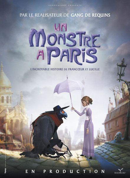 دانلود انیمیشن هیولا در پاریس 2011 با دوبله فارسی