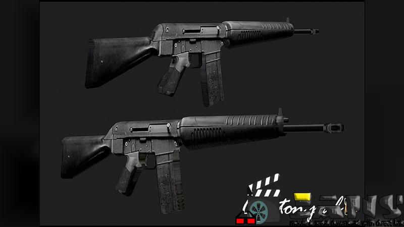 دانلود اسلحه Sar 80 برای بازی GTA SAN