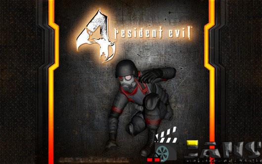 دانلود اسکین سرباز رزدنت ایول راکن برای رزدنت ایول 4
