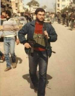 سيد حسن نصرالله در زمان جواني/ حزب الله لبنان