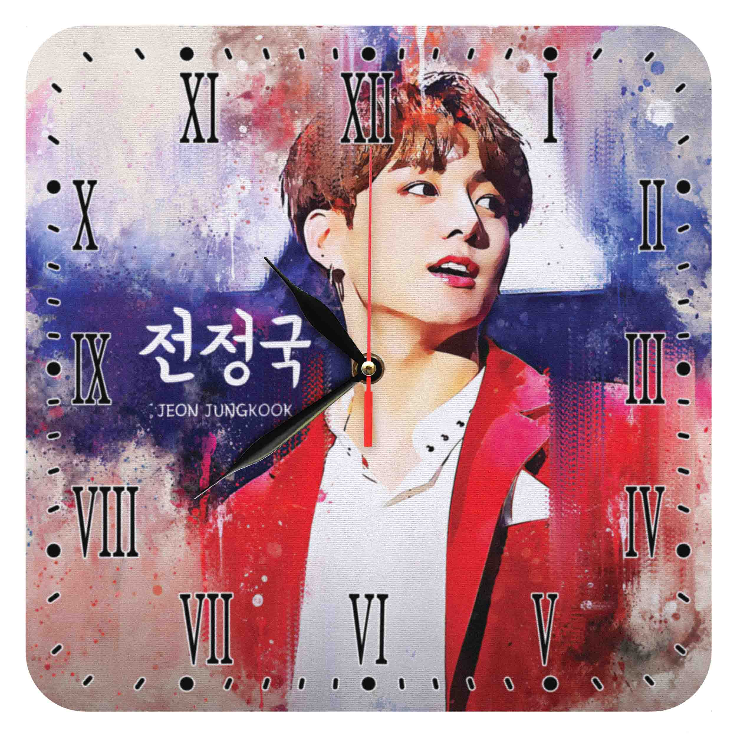 ساعت دیواری مدل BTS Jeon Jungkook