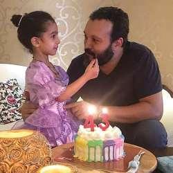 جشن تولد 43 سالگي کامبيز ديرباز بازيگر سينما