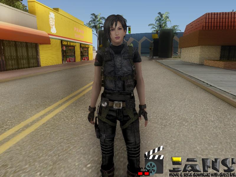 دانلود اسکین ایدا وانگ برای GTA SA