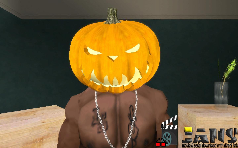دانلود ماسک پامپکین برای GTA SA