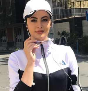 مريم مومن با تيپ اسپورت