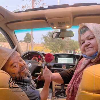 ماشين بي ام و اسدالله يکتا